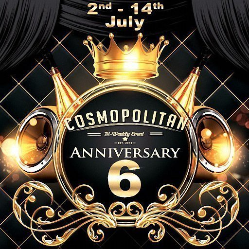 Cosmopolitan 6th Anniversary July 2018 Round Two