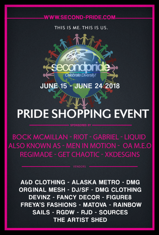 Second Pride June 2018