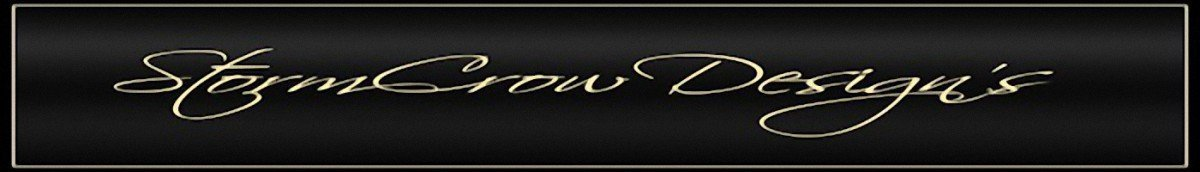 StormCrow Designs banner