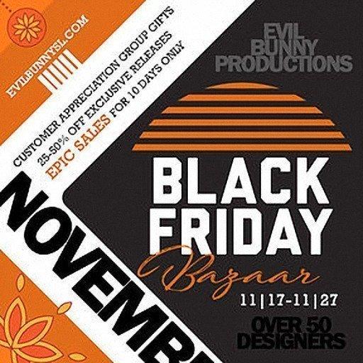 Black Friday Event Logo