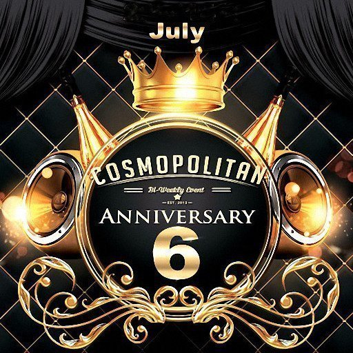Cosmopolitan 6th Anniversary July 2018 Featured