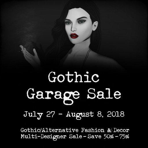 Gothic Garage Sale III 2018