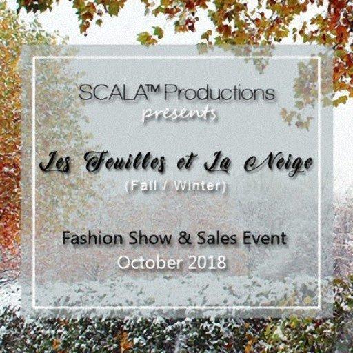 Scala Feuilles et le neige Fashion Show_oct2018