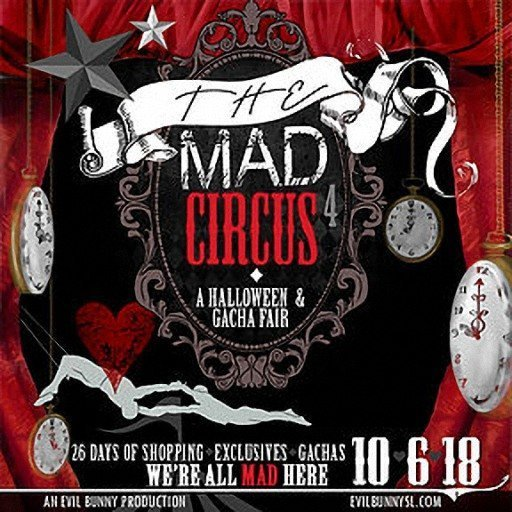 The Mad Circus Logo 2018