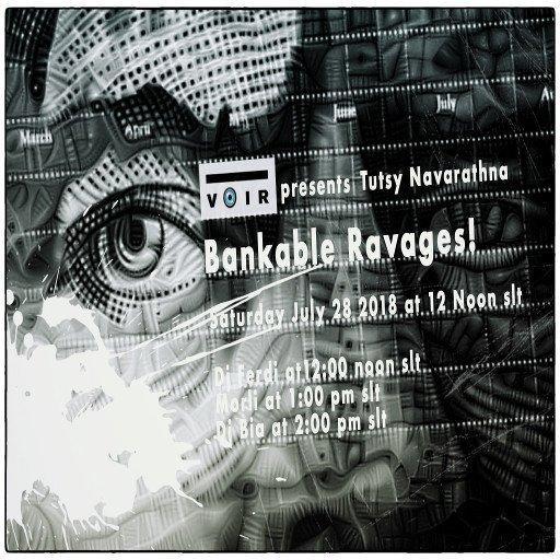 Voir 2018 Bankable ravage flyer