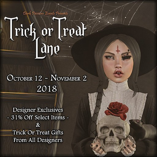 Trick or Treat Lane 2018