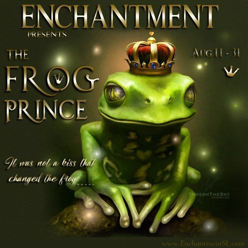ENCHANTMENT The Frog Prince August 2018