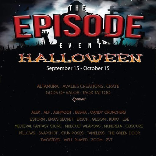 EPISODE EVENT HALLOWEEN 2018