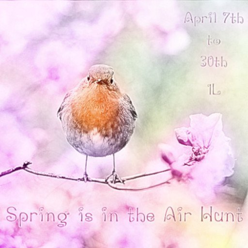 Spring is in the Air Hunt – April 2019