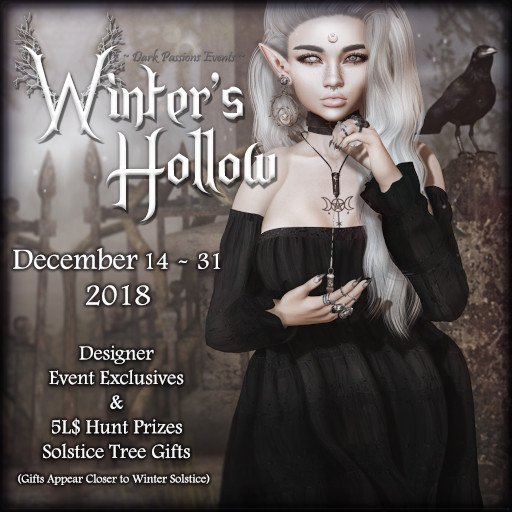 Dark Passion Winter's Hollow - December 2018