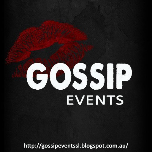 GOSSIP EVENTS SIGN 2018