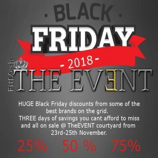 The EVENT Black Friday Event 2018