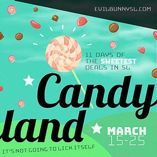 Candyland March 2019