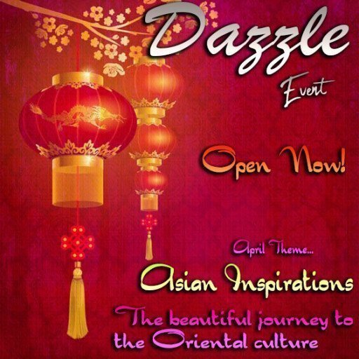Dazzle Event April 2019 Asian Inspiration