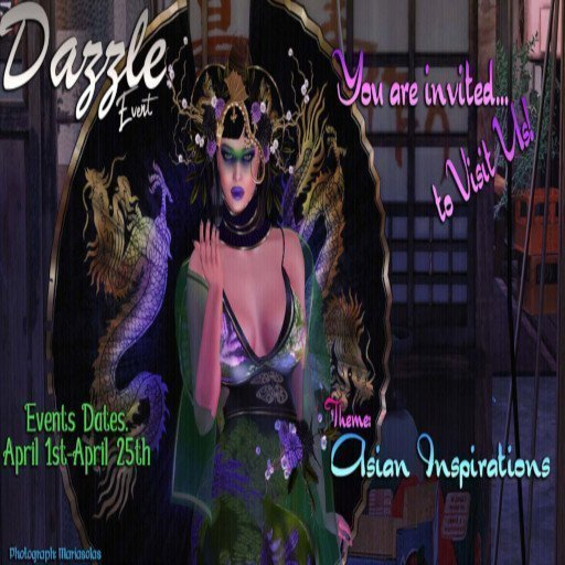 Dazzle Event April 2019