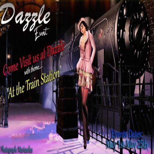 Dazzle Event May 2019 At The Train Station