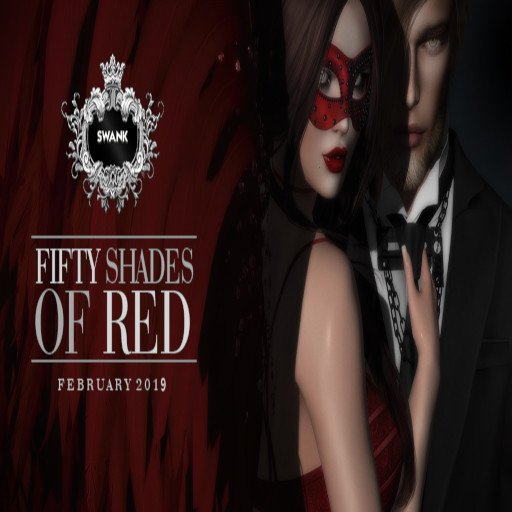 SWANK - FIFTY SHADES OF RED POSTER - FEBRUARY 2019