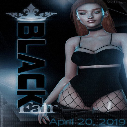 WeDoSl Black Fair April 2019