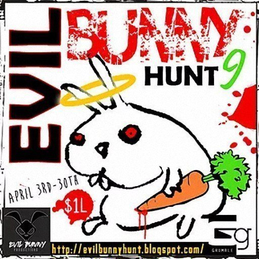 Evil Bunny Hunt April 2019
