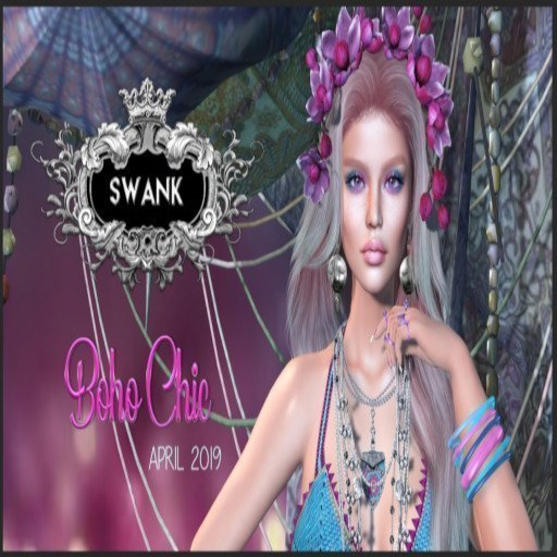 Swank Boho Chic March Round