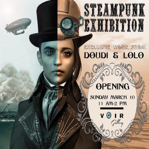 VOIR Steampunk March 2019