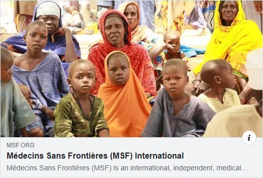 MSF helping people where needed
